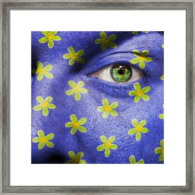 Flower Power Framed Print by Semmick Photo