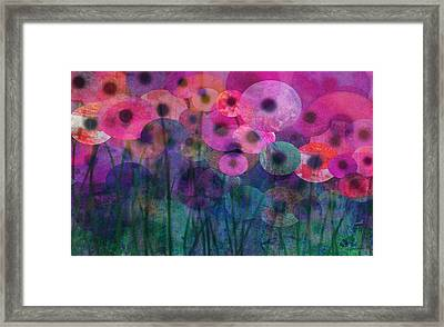Flower Power Six Framed Print by Ann Powell