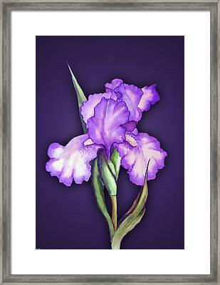 Flower Power Framed Print by Tyler Robbins