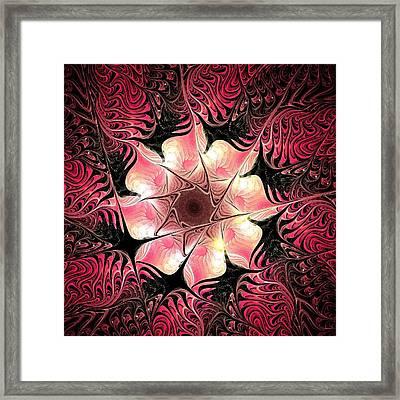 Flower Scent Framed Print by Anastasiya Malakhova