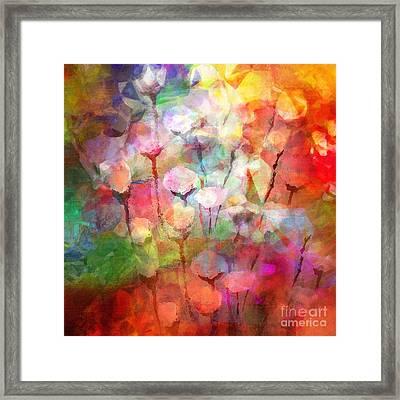 Flower Serenade Framed Print by Lutz Baar