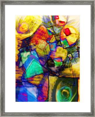 Flower Soldiers Framed Print by Robert M Cooper