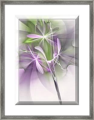Flower Spirit Framed Print by Svetlana Nikolova