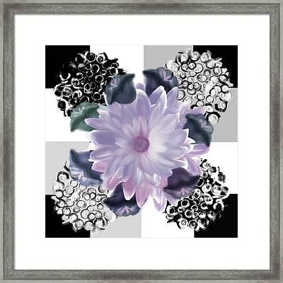 Flower Spreeze Framed Print