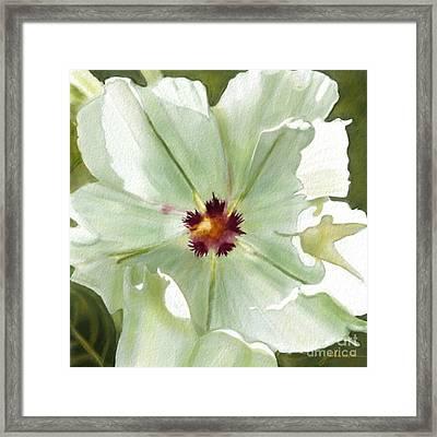 Flower Three Framed Print