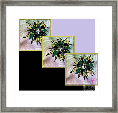 Flower Time Framed Print