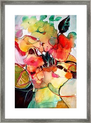 Flower Vase No. 2 Framed Print by Michelle Abrams