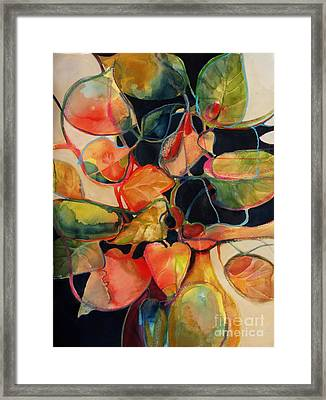 Flower Vase No. 5 Framed Print by Michelle Abrams