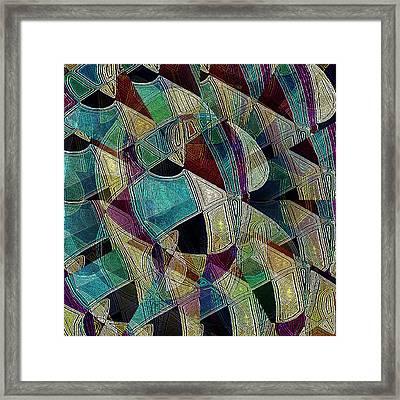 Flower Warrior Framed Print