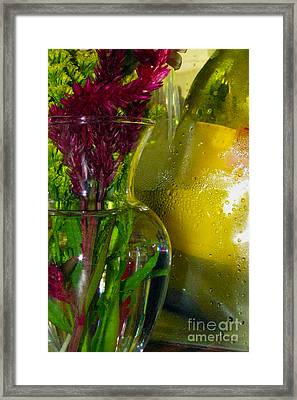 Flower Wines Framed Print by Alan Look