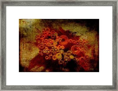 Flower Works Framed Print by Fran Riley