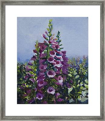 Flower_03 Framed Print
