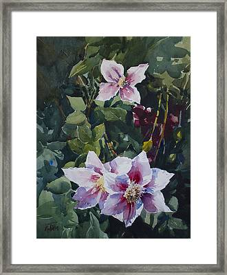 Flower_07 Framed Print