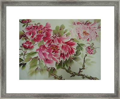 Flower0725-3 Framed Print
