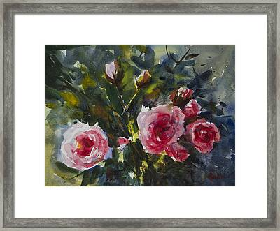 Flower_08 Framed Print