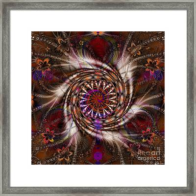 Flowercracker   Framed Print by Elizabeth McTaggart
