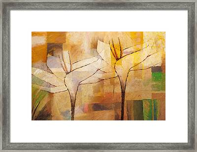 Flowerdance Framed Print