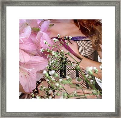 Flowergirl1 Framed Print