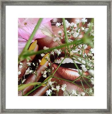 Flowergirl2 Framed Print