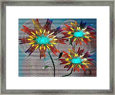 Flowering Blooms Framed Print