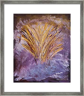 Flowering Nebula Framed Print
