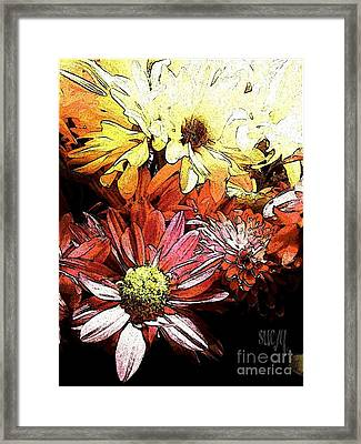 Flowerpower Framed Print
