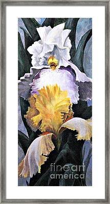 Flowers 1 Framed Print