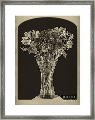 Flowers 1860s Framed Print by Edward Fielding