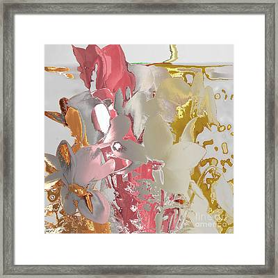Flowers 2 Framed Print by Soumya Bouchachi