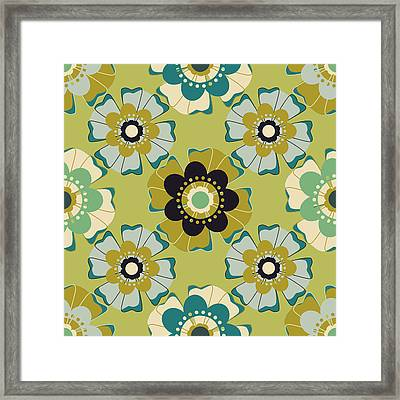 Flowers 4 Framed Print by Lisa Noneman