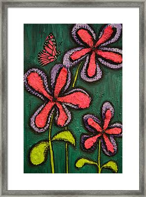 Flowers 4 Sydney Framed Print