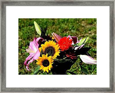 Flowers 66 Framed Print
