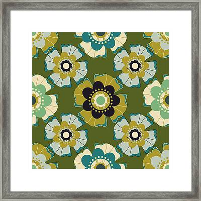 Flowers 7 Framed Print