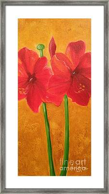 Flowers Framed Print by Brindha Naveen