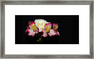 Framed Print featuring the photograph Flowers by Cecil Fuselier