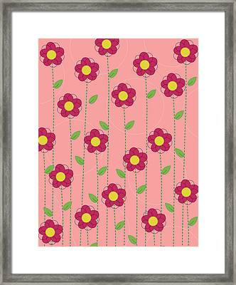 Flowers Framed Print by Christy Beckwith