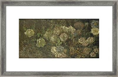 Flowers, Claude Monet Framed Print