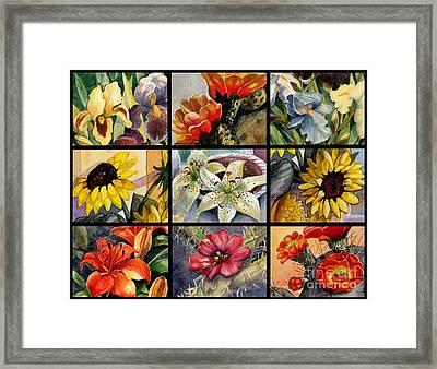 Flowers Everywhere Framed Print by Marilyn Smith
