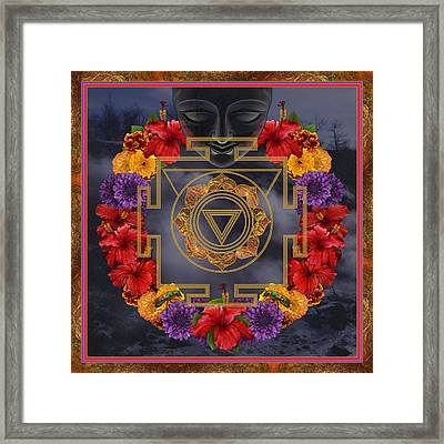 Flowers For Kali Ma Framed Print