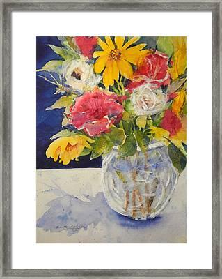 Flowers For Madeline Framed Print