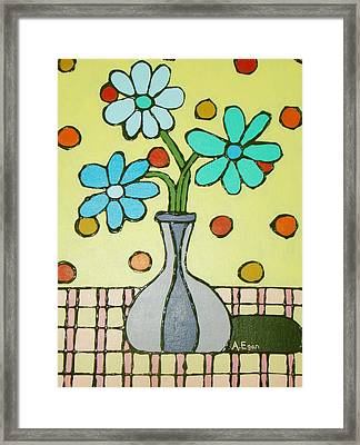 Flowers For Marcia Framed Print