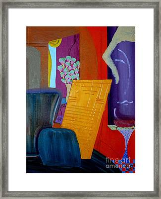 Flowers For Matisse Framed Print
