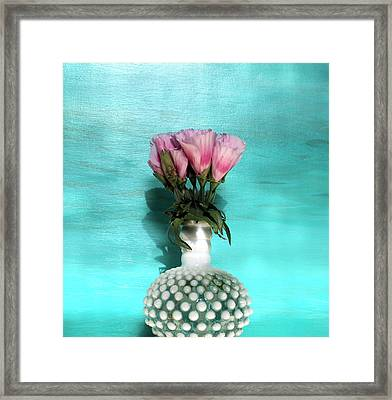 Flowers For You Framed Print by Paulette Maffucci
