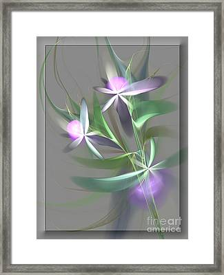 Flowers For You Framed Print by Svetlana Nikolova