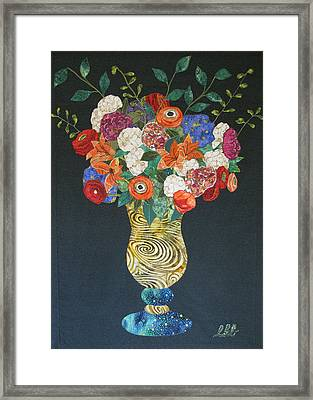 Flowers Gone Wild Framed Print by Lynda K Boardman