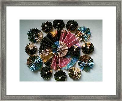Flowers Harmony Framed Print by Zulfaqar Ali