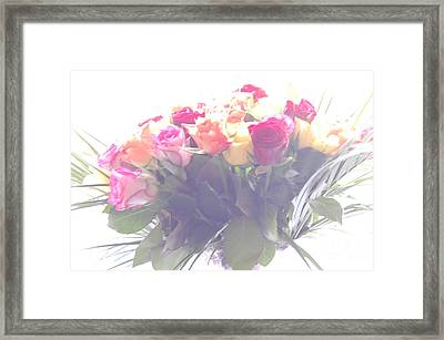 Flowers In A Dream Framed Print