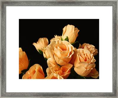 Flowers In Mourning Framed Print