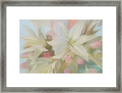 Flowers In Spring  Take Our Breathe Away Framed Print by Sherri  Of Palm Springs