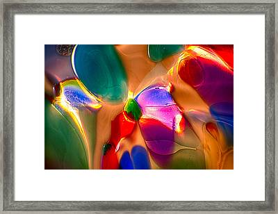 Flowers In The Attic Framed Print by Omaste Witkowski
